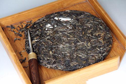 生普麻黑普洱茶的特点
